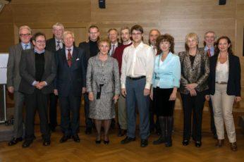 La première remise du prix de la meilleure thèse  -nov.2012