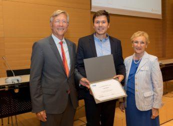 Le physicien Mads Weber se voit décerner le Prix Rolf Tarrach 2017 (prix du meilleur PhD) – jul. 2017