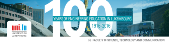 100 years of Engineering Education in Luxembourg- Closing Ceremony at the Grand Auditorium, Belval  -oct.2016