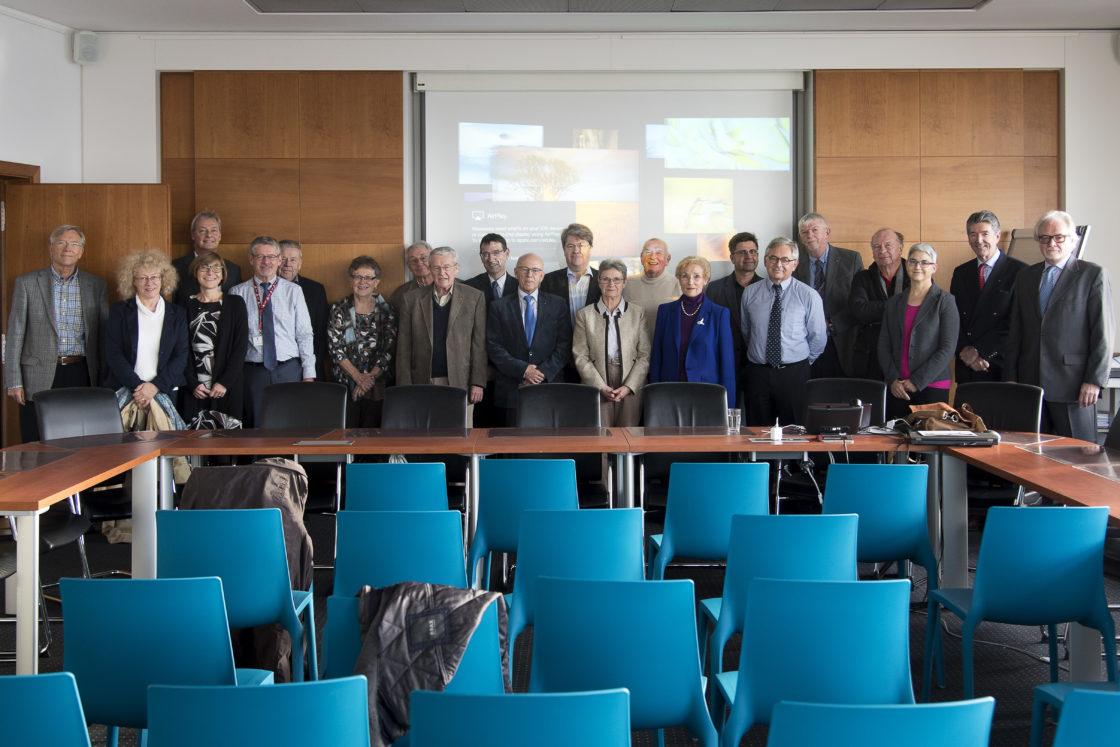 Conférence au CHEM, présentation du projet Südspidol à Esch – nov. 2017