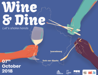 Wine & Dine | Let's shake hands – octobre 2018
