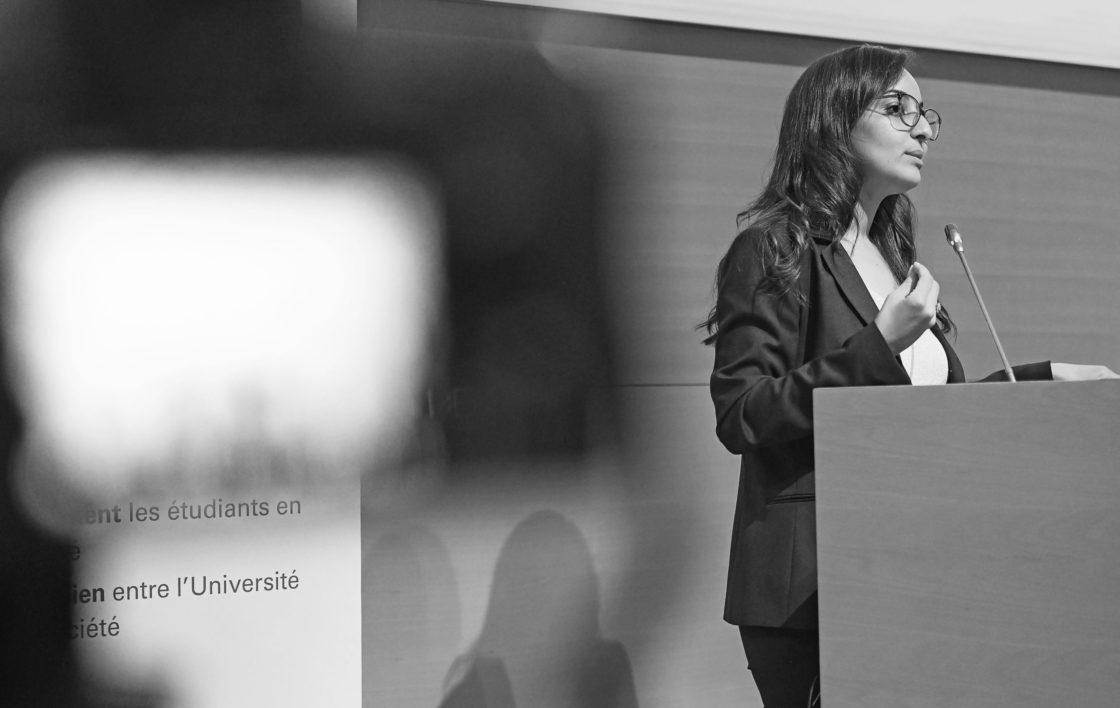 Prix Rolf Tarrach 2020 pour le Dr Fatima Chaouche (FDEF) – juillet 2020