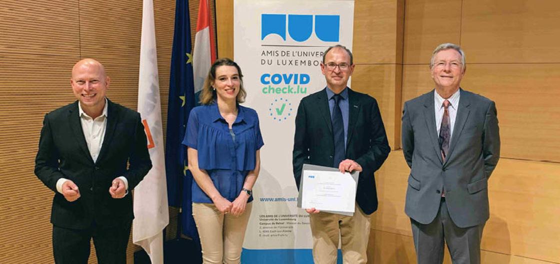 Prix Rolf Tarrach 2021 pour le Dr Carsten Ullrich (FDEF) – juillet 2021